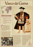 Great Explorers - Vasco da Gama Wall Poster