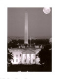 Washington D.C., Black and White Poster