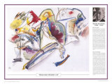 Twentieth Century Art Masterpieces -Wassily Kandinsky - Watercolor Poster by Wassily Kandinsky