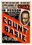 Count Basie Orchestra at Sweet's Ballroom, Oakland, California, 1939 Poster autor Dennis Loren