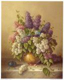 Spring Bouquet Print by Corrado Pila