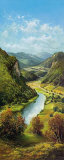 Carpathian River Scene II Plakater af Helmut Glassl