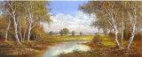Spring in Horni Rybniky Print by H. Buchner