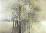 Trees II Prints by Magda Stoop