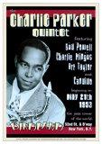 Charlie Parker Quintet - Birdland, NYC 1953 Posters par Dennis Loren