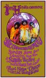 Jimi Hendrix Saville I - (Lithograph) Posters par Karl Ferris
