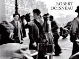 Le baiser de l'Hôtel de ville, Paris, 1950 Poster par Robert Doisneau