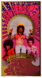 Jimi Hendrix Saville I - (Lithograph) Affiches par Karl Ferris