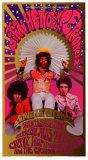 Jimi Hendrix in Concert, Saville Theatre Kunstdrucke von Karl Ferris