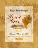 Pinot Gris Prints by Pamela Gladding