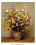Le bouquet de ma mere Prints by Marcel Dyf