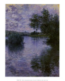 V&#233;theuil Affiches par Claude Monet