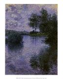 Vétheuil Affiches par Claude Monet