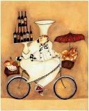 Vendeur de vin Affiches par Jennifer Garant
