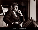 John F. Kennedy in Repose Prints