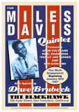 Miles Davis Quintet - The Blackhawk, San Francisco, CA 1957 Affiches par Dennis Loren