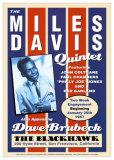 Miles Davis Quintet - The Blackhawk, San Francisco, CA 1957 Affiches par Dennis Loren