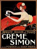 Crème Simon Affiches par Emilio Vila