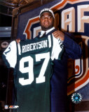 Dewayne Robertson - '03 Draft Day Photo