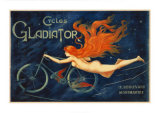 Cycles Gladiator Posters par Georges Massias