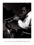 Howard McGhee and Miles Davis Prints by William P. Gottlieb