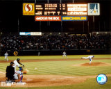 Nolan Ryan - 6e &#171;&#160;no-hitter&#160;&#187; (dernier lancer) - &#169;Photofile Photographie
