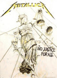 Metallica&#160;- Justice for All Affiche