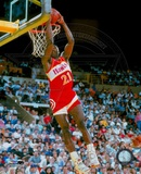 Dominique Wilkins - Dunking Action Photo