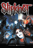 Slipknot Group Mayhem Poster
