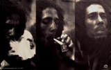Bob Marley - Triple Portrait Print