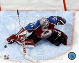 Patrick Roy - Overhead Action Photo