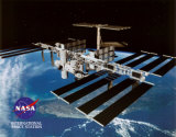 International Space Station 2, ISS, Art Print