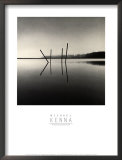 Poles, Moss Landing, California Posters by Michael Kenna