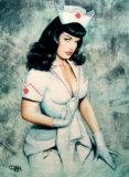 Nurse Bettie Plakater af Olivia DeBerardinis