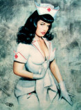 Nurse Bettie Prints by Olivia DeBerardinis