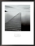 Plank Walk, Lancashire, England Prints by Michael Kenna