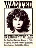 The Doors -  Wanted Poster Print