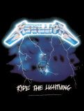 Metallica - Ride The Lightning Poster