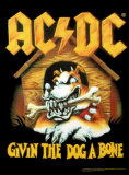 AC/DC - Givin' The Dog a Bone Print