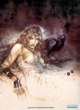 Dreams II Print by Luis Royo