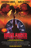 Highlander- The Final Dimension Posters