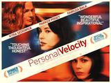 Personal Velocity Plakaty