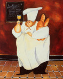 Le Menu Prints by Jennifer Garant