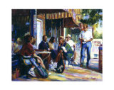 Nuffer's Coffee Break Giclee Print by Curney Nuffer