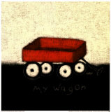 My Wagon Posters by Emily Adams