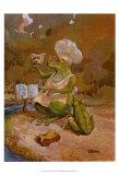 Frog Cookies Posters af Dot Bunn