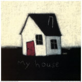 My House Prints by Emily Adams