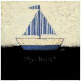 My Boat Art by Emily Adams