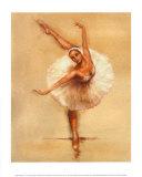 Ballerina I Poster von Caroline Gold