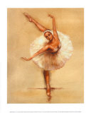Ballerina I Posters by Caroline Gold
